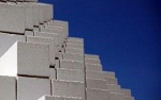 Заводские газобетонные блоки — технические характеристики