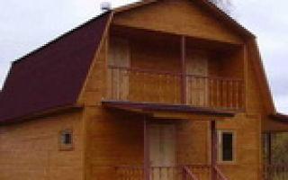 Крыша с мансардой – конструкция, схемы и чертежи