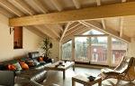 Дизайн мансарды — галерея интерьеров в частном доме