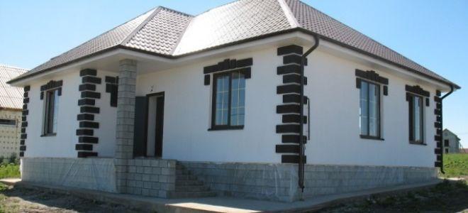 Фото фасадов одноэтажных домов