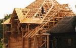 Стропильная система четырехскатной крыши – чертеж