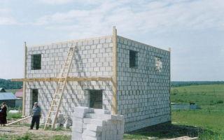 Сколько кубов пеноблоков нужно для строительства дома 10 на 10 метров