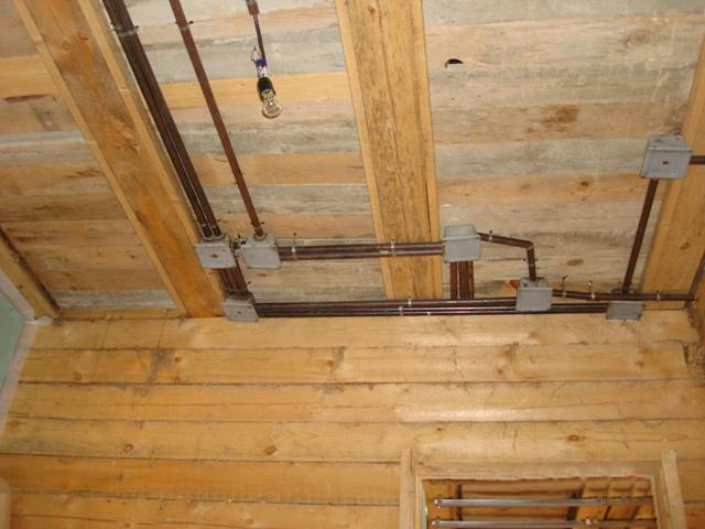 Электропроводка в деревянном доме 3