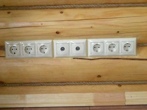 Электропроводка в деревянном доме 4