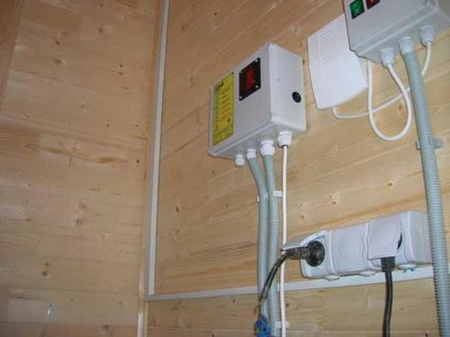 Электропроводка в деревянном доме схема 1