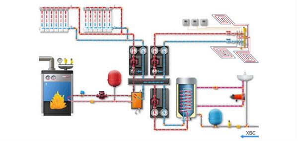 Правильная схема отопления частного дома электричеством 2
