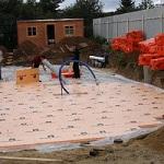 Утепление и гидроизоляция плитного фундамента по СНиП 1