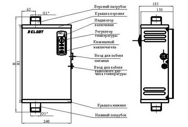 Электрический котел отопления для частного дома - лучшие варианты 3
