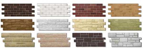 Металлосайдинг под кирпич - основные типы, размеры, характеристики материала 2