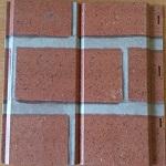 Металлосайдинг под кирпич - основные типы, размеры, характеристики материала 1