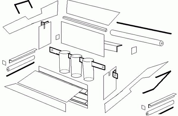 Простой станок для производства пеноблоков - схемы и чертежи 4