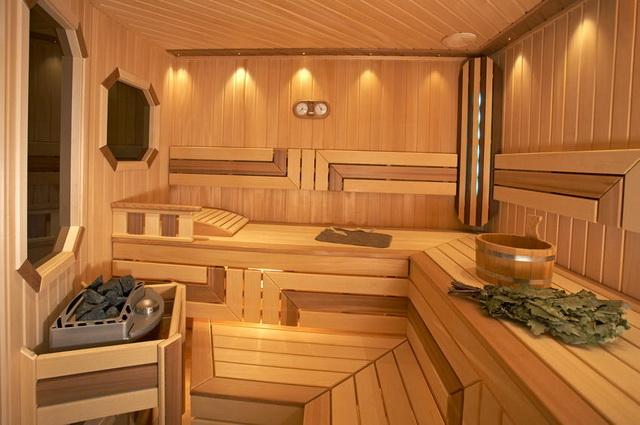 Баня 4 на 4 - планировка внутри и фото 5