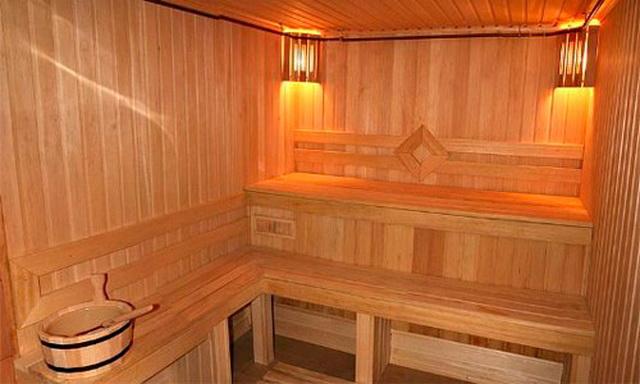Баня 4 на 4 - планировка внутри и фото 10