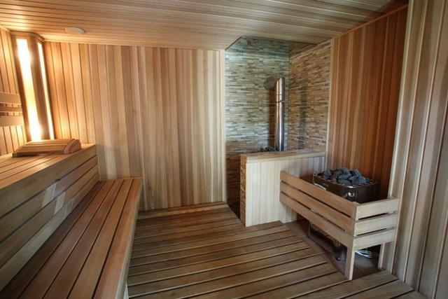 Баня 4 на 4 - планировка внутри и фото 11
