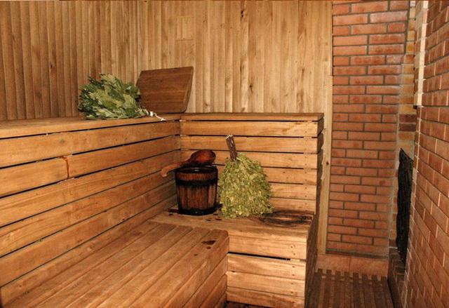 Баня 4 на 4 - планировка внутри и фото 13