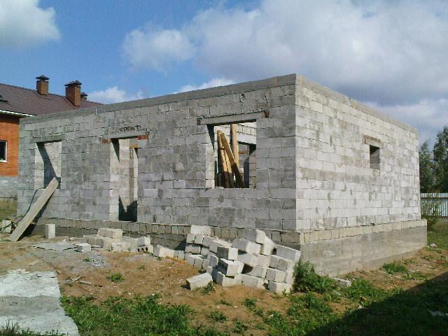 Сколько кубов пеноблока нужно для строительства дома 8 на 8 метров 3