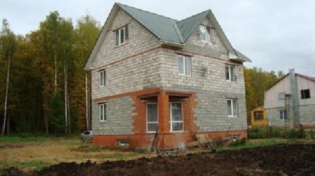 Сколько кубов пеноблоков нужно для строительства дома 12 на 12 метров 1