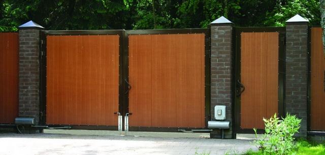Ворота своими руками – чертежи, схемы, эскизы, конструкции 10