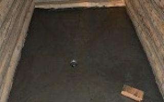 Как залить пол в бане со сливом – делаем бетонные полы