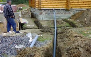 Простая канализация в бане своими руками — схема