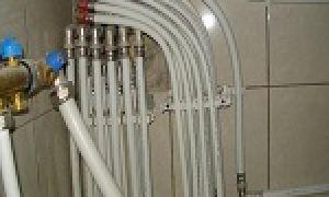 Трубы для водопровода в доме – утепление и схема