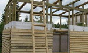 Чертежи и схемы для обустройства односкатной крыши