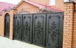 Ворота своими руками – чертежи, схемы, эскизы, конструкции