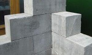 Размер пеноблока — стандарт и нестандарт для частной стройки
