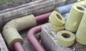 Утепление канализационных труб в земле – чертежи и схемы