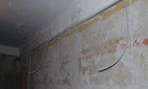 Схема проводки в панельном доме