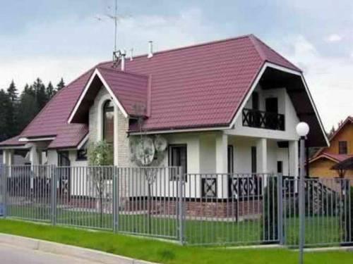 2 Полувальмовая крыша своими