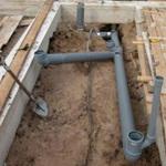 Схема канализации в двухэтажном доме А
