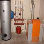 Схема отопления частного дома природным газом 1