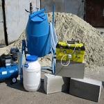 Производство пеноблоков в домашних условиях - технология и оборудование 1
