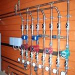 Распределительная гребенка системы отопления - как работает лучевая разводка системы отопления в доме 1