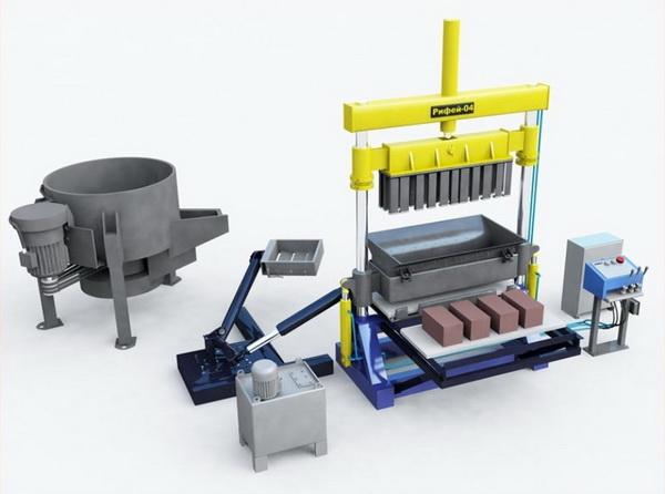 Оборудование для шлакоблока