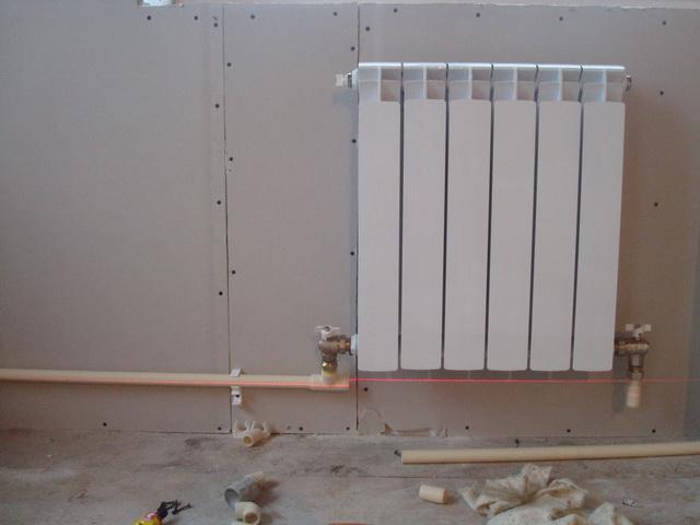 Схема отопления одноэтажного частного дома с принудительной циркуляцией 4