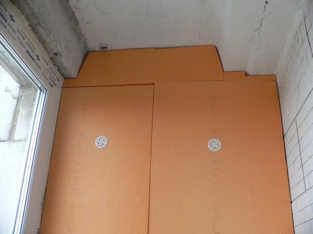 Утепление стен изнутри пеноплексом и гипсокартоном