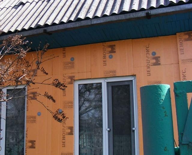Утепление стен снаружи пеноплексом с последующей обшивкой сайдингом 3
