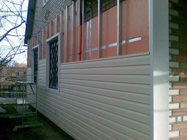 Утепление стен снаружи пеноплексом с последующей обшивкой сайдингом 4