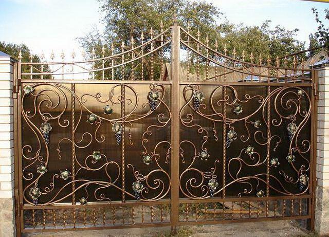 Ворота своими руками – чертежи, схемы, эскизы, конструкции 5