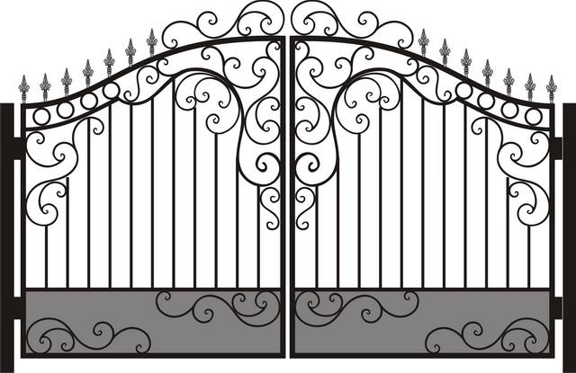 Ворота своими руками – чертежи, схемы, эскизы, конструкции 7